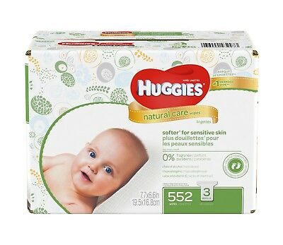 Huggies Baby Wipes - Natural Care (Choose Your Count) **FREE SHIPPING**