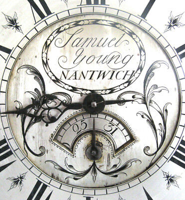 Early Longcase Movement - Single Hand - Samuel Young of Nantwich - Circa 1750