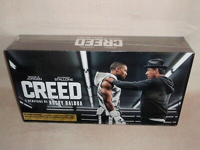Creed SteelBook [Blu-ray: Region Free, with BOXING GLOVES & SHORTS] S. Stallone