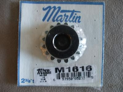 4 Nos Martin M1616 Plain Straight Bore Miter Gear