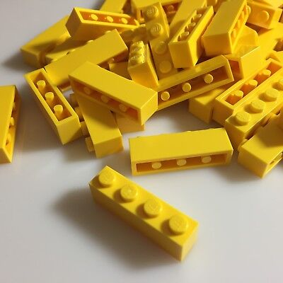 *NEW* 50 Pieces Lego BRICKS 1x4 TAN