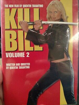 Kill Bill Vol.2. DVD. Directed by Quentin Tarantino 2004