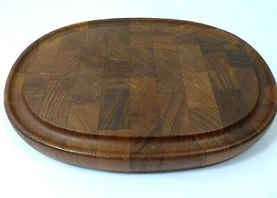 Digsmed Denmark Teak Cheese Cutting Board Danish Modern Vintage Charcuterie