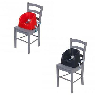 Safety 1St Essential Booster Seat- Red Lines/Grey Patches