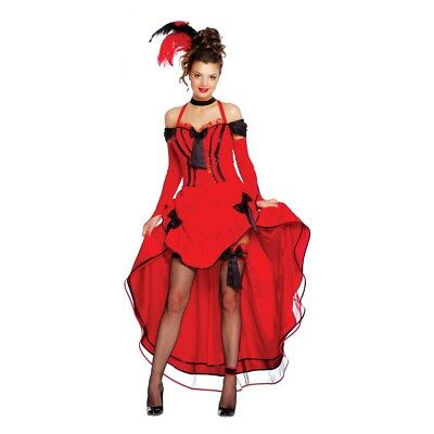 Costume Carnevale Donna Ballerina Can Can
