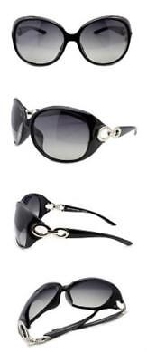 2eec8b36d6c Sunglasses Women s Classic Star Polarized 100% UV Protection 1220 Duco  (Black)