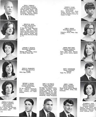 1966 University Of Connecticut Yearbook, Nutmeg, Storrs, Connecticut