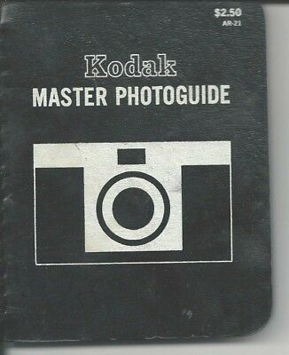 Kodak Master Photo Guide - 1968 - Set Your Film Camera For The Best Pictures