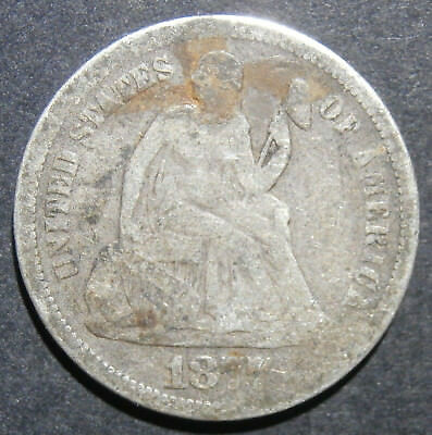 USA - Dime 1877 - 10 cents