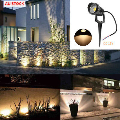 DC 12V 5W COB LED waterproof Outdoor Garden Light  Backyard Path Lamp Spotlights