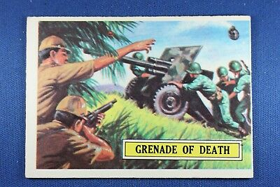 1965 Topps Battle Cards - #4 Grenade of Death - VG/Ex Condition