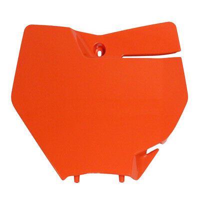 UFO NEW Mx KTM 125-450 SX SXF 2016 2017 Replacement Orange Front Number Plate