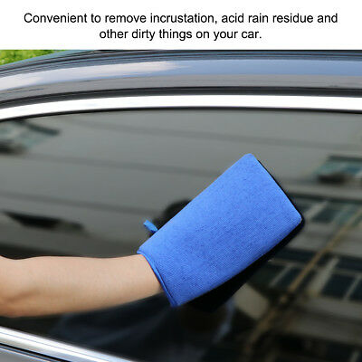 Car Clay Mitt Glove for Detailing Polish Clay Bar Alternative Reusable 22cmx15cm