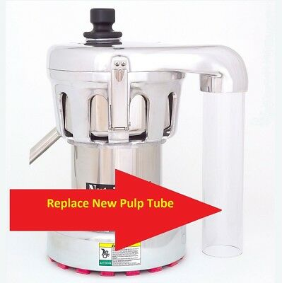 New Replacement Pulp Tube / Pulp Exhaust for Ruby 2000 / Nutrifaster N450