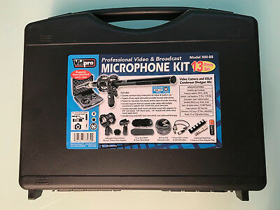 Vidpro XM-88 Shotgun Microphone Kit used for only one day