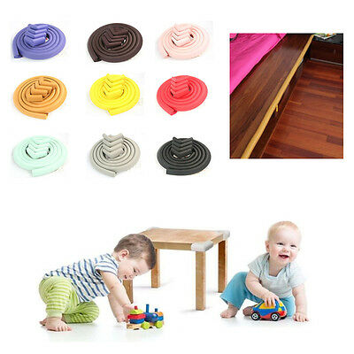 4 Meters Baby Toddler Safety Proofing Table Edge Guard Corners Protector+Corners
