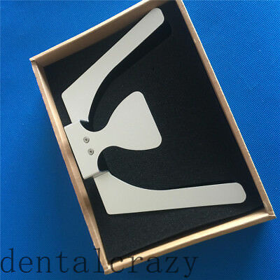 Best Dental Occlusal Maxillary Casting Jaw Fox Plane Plate Complete Denture