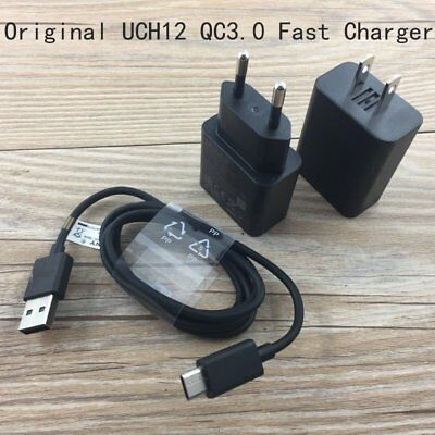 Original UCH12 QC3.0 Fast Charger USB-C Cable For Sony Xperia XZ Premium