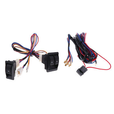 12v car power window switch with wire harness universal electric switches