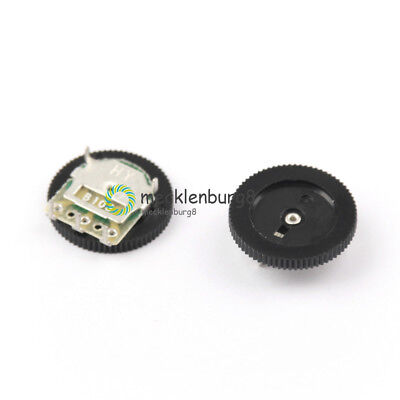10PCS A103 10K Duplex Gear Potentiometer A10K 5pin for Radio MP3/MP4 16x2.8mm