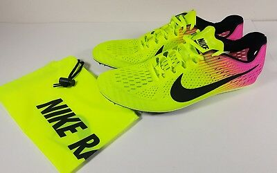 lowest price 92027 a8975 Nike Zoom Victory Elite 2 Mens Distance Track Spikes Shoes Size 12.5  835998 999