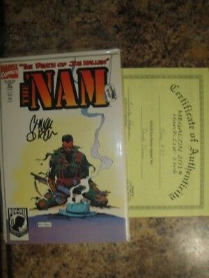 NAM  NO.57 SIGNED W COA, signed BY CHUCK NIXON