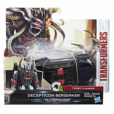 NIP Transformers The Last Knight 1-Step Turbo Changer DECEPTICON BERSERKER C2823