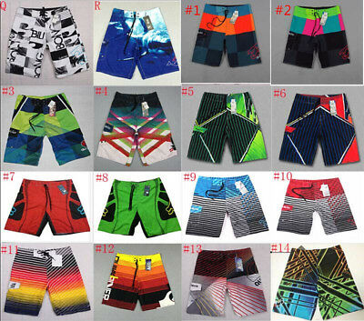 Hot Men Floral Surf Board Shorts Swimwear Beach Sports Trunks Pants Size 30-44