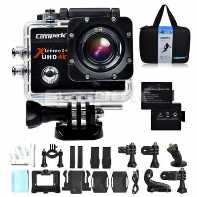 Campark ACT74 Action Sports kamera WiFi FHD 4K 16MP 170° Wasserdicht Helmkamera
