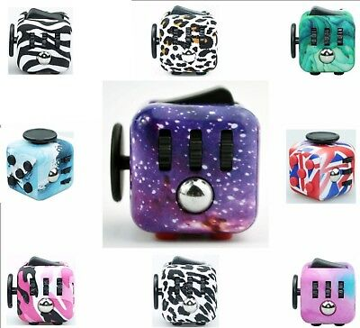 Fidget Cube Spinner Toy Children Desk Adults Stress Relief Cubes ADHD