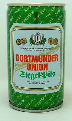 Dortmunder Union 33 cl  steel beer can from Germany var 3