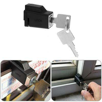 Aluminum Alloy Child Security Safety Sliding Window Restrictor Lock with 2 Keys