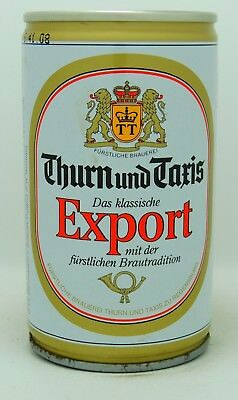 Thurn und Taxis Export 33 cl  steel beer can from Germany