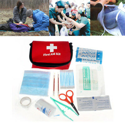Car Emergency Bag First Aid Kit Pack Medical Tools For Sports Travel Camping*