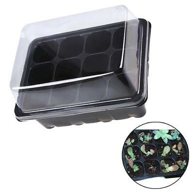 New Propagation Tray Plant Seed Cloning Insert Clone Grow Box Kit Black Color