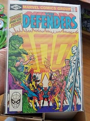 Defenders #100 October 1981 Giant-Size
