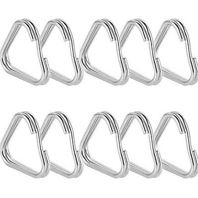 20/50X Metal Triangle Rings Split Camera Strap Hook Replacement Parts Accessory