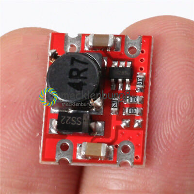 DC-DC Boost Step Up Power Supply 2V-5V to 5V 2A Fixed Output Power Module NEW
