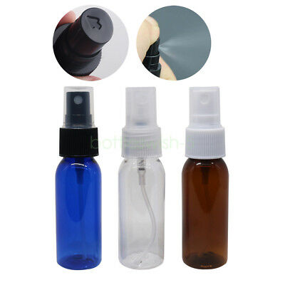 2/6/12/24x 30ml Plastic Perfume Atomizer Empty Plastic Fine Mist Spray Bottles