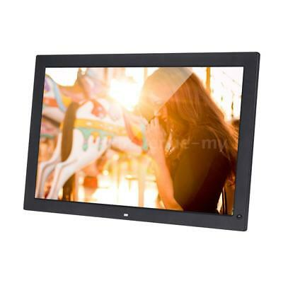 "18.5""HD LED Digital Photo Frame Picture Album Screen Alarm Calendar Movie Player"