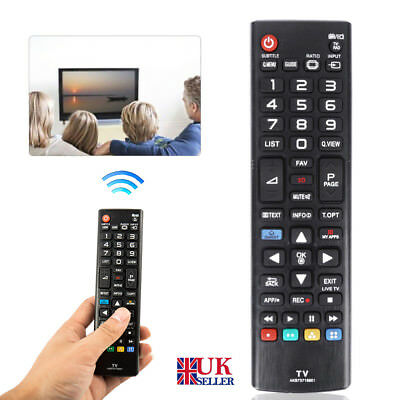Replacement Remote Control for LG AKB73715601 55LA690V 55L Smart TV Universal
