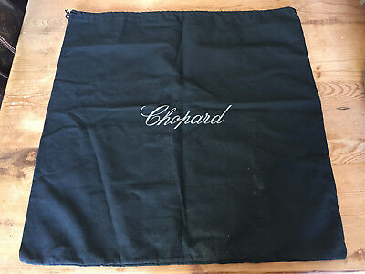 Used - Bag Cover CHOPARD Funsa Bolsa - Black color Negro - 49 x 48 cm
