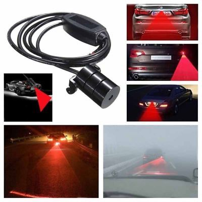 Car LED Laser Fog Light Anti-Collision Taillight Brake Warning Alarm Lamp NE UK