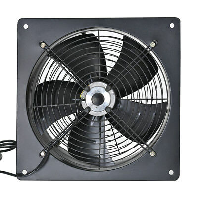 Industrial Ventilation Extractor Axial Exhaust Commercial Blower Flow Plate Fan