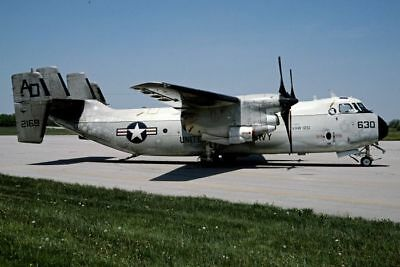 Aircraft Slide Dia C-2A 162169/ad-630 Vaw-120 United States Navy 0162