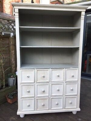 Pine Hungarian shelves unit with drawers