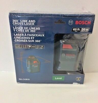 BOSCH 360 Degree Line And Cross Laser GLL 2-20 S
