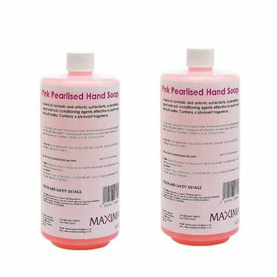 Hand Soap Pink 1 Litre (Pack of 2) KSEMAXPS1, Affordable  [CPD04904]