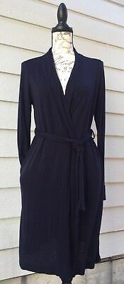 BUMP in the Night lightweight hospital maternity robe size S with pockets