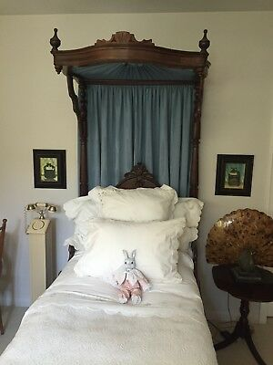 Victorian Half Tester bed twin size